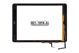 Érintő panel, touchscreen (fekete) Apple Ipad Air A1475 tablethez (821-1894-A)