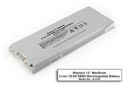 Apple MacBook 13 helyettesítő új laptop akku/akkumulátor A1181, A1185