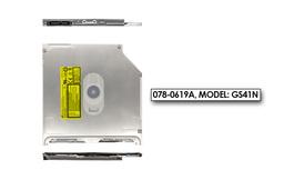 Apple MacBook Pro 13'', 15'', 17'' Unibody laptopokhoz gyári új 9.5mm-es DVD meghajtó (078-0619A, Model: GS41N)