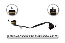 Apple MacBook Pro 13 Unibody A1278 (late 2008, 2009, 2010) laptophoz gyári új LCD kijelző kábel