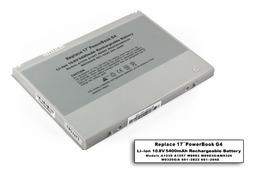 Apple PowerBook G4 17'' helyettesítő új laptop akku/akkumulátor  A1057