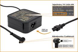 Asus 19V 3.42A 65W gyári új laptop töltő (PA-1650-48, 0A001-00440600)