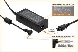 Asus A6000 (A6) A6RP 19V 3,42A 65W-os laptop töltő