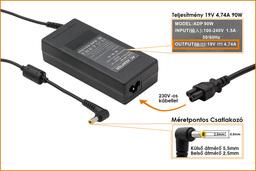 Asus A6000 (A6) A6RP 19V 4.74A ( 4,74A ) 90W-os laptop töltő