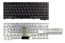 Asus A6000 (A6) A6R fekete spanyol laptop billentyűzet