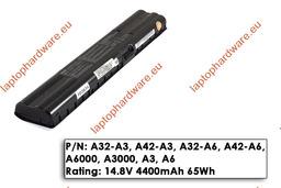 Asus A3000, A6000 8 cellás használt 70%-os laptop akku/akkumulátor (A42-A6)