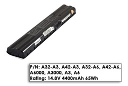 Asus A3000, A6000 8 cellás használt 90%-os laptop akku/akkumulátor (A42-A6)
