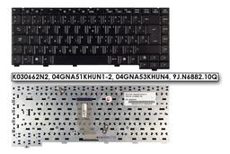 Asus A6000 (A6) A6RP fekete magyar laptop billentyűzet