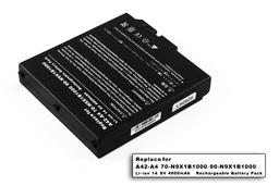Asus A4, A4000, A42-A4 8 cellás helyettesítő új laptop akkumulátor