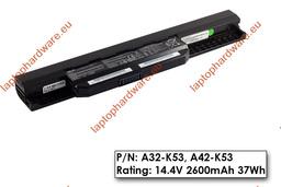 Asus A53, K53, X53 használt gyári 90%-os 4 cellás gyári laptop akku/akkumulátor (A41-K53)