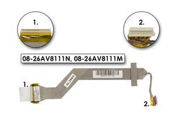 Asus A6V, Z9200VC laptophoz használt Kijelző kábel(15.4inch), WXGA+,(08-26AV8111N)
