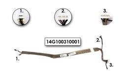 Asus A7 sorozatú laptophoz használt Inverter kábel mikrofonnal, 14G100310001.