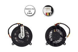 Asus A8, F3, Z53, Z99 gyári új laptop hűtő ventilátor, 3 pines, (KFB0505HHA-7856)