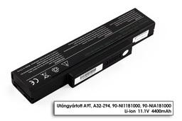 A32-Z94, BTY-M66 6 cellás helyettesítő új laptop akku/akkumulátor