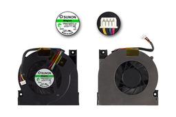 Asus A9T, A94, X50, F5, G2 gyári új hűtő ventilátor 4 eres GB0575PFV1-A