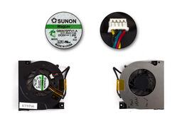 Asus A9T, A94, X50, F5, G2S használt laptop hűtő ventilátor (4 eres) (GB0575PFV1-A)