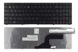 Asus B53E, K54, X54 Wave gyári új magyar fekete laptop billentyűzet (04GN0K1KHU10-2)