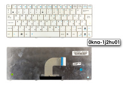 Asus Eee PC 1101HA Használt Magyar fehér billentyűzet (0kna-1j2hu01)