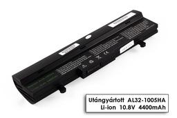 Asus EEEPC 1001HA, 1005HA, 1101HA fekete 6 cellás helyettesítő új laptop akku/akkumulátor  AL31-1005