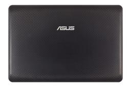 Asus EEEPC 1001PX, 1001PXD, R101D fekete LCD hátlap zsanérokkal, 13GOA2B2AP030-30
