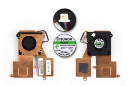 Asus EEEPC 1001PX,1005HA,1005P 1008HA használt laptop hűtő ventilátor (13GOA1B1AM040-20)