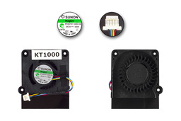 Asus EEEPC 1001PX,1005HA,1005P 1008HA gyári új laptop hűtő ventilátor (13GOA1B1AM040-20)