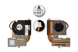 Asus EEEPC 1003HAG, S101 használt komplett laptop hűtő ventilátor (KSB0405HA)