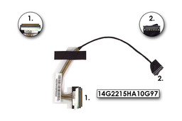 Asus EEEPC 1005HA laptopokhoz gyári új LCD kijelző kábel (14G2215HA10G97)