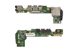 Asus EEEPC 1015BX gyári új I/O panel (USB, LAN, MIC), 60-OA3KIO2000-A02