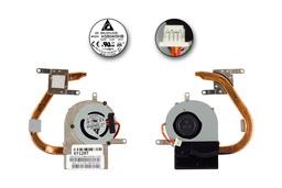 Asus EEEPC 1015PN gyári új laptop hűtő modul (13GOA2V1AM010-10, 13NA-3AA0501)