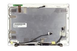 Asus EEEPC 1018P netbookhoz gyári új fehér LCD hátlap zsanérokkal, WiFi antennákkal, webkamera kábellel és hangszórókkal (13GOA281AP010)