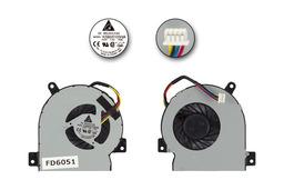 Asus EEEPC 1215B, 1215CT, 1215N, 1215P, 1215T használt hűtő ventilátor, KSB05105HA
