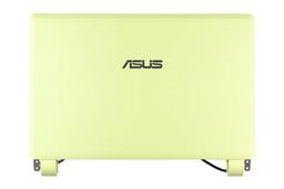 Asus EEEPC 700, 700X, 701C gyári új zöld LCD hátlap, zsanérokkal, hangszóróval és wifi antennával, 13GOA025AP030-1