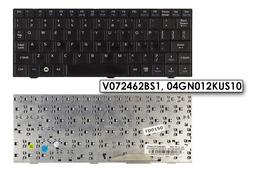Asus EEEPC 700, 900 használt angol US fekete laptop billentyűzet (V072462BS1)