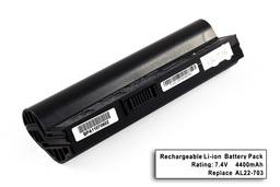 Asus EEEPC 703, 900A, AL22-703(S) 4 cellás helyettesítő új laptop akkumulátor