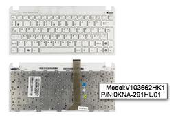Asus EEEPC Seashell 1011PX, 1015BX, R011PX gyári új magyar fehér laptop billentyűzet WiFi kapcsolóval (90R-OA3D1K1B00Q)