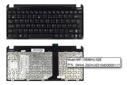 Asus EEEPC Seashell 1011PX, 1015BX, R011PX gyári új magyar fekete laptop billentyűzet WiFi kapcsolóval (90R-OA3D2K1B00Q)