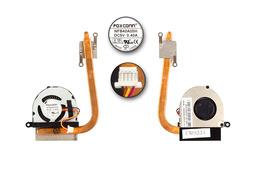 Asus EEEPC Seashell 1015BX netbookhoz használt hűtő ventilátor (13NA-3KA0101)