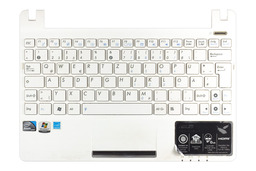 Asus EEEPC R11CX, X101CH használt német fehér laptop billentyűzet (13GOA3P1AP060-10)