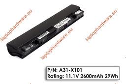 Asus EEEPC X101 használt 95%-os, 3 cellás laptop akku/akkumulátor A31-X101 (X10L893)