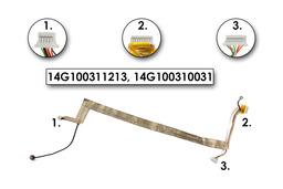 Asus F3, F3T, X53S laptophoz használt inveter kábel (14G100310031)
