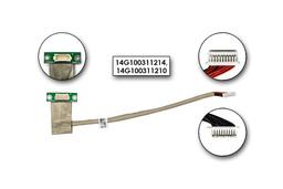 Asus F3 sorozatú laptophoz gyári új LCD inverter fly kábel (14G100311214)