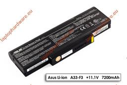 Asus F3, X52, X53 hasznalt 9 cellás 50%-os laptop akku/akkumulátor (A32-F3)