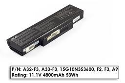 Asus F3, X52, X53 hasznalt 6 cellás 50%-os laptop akku/akkumulátor (A32-F3)