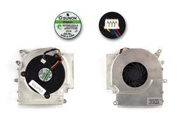 Asus F3F, F3M, F7F használt laptop hűtő ventilátor (KFB0505HHA)