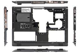 Asus F5, X50 sorozatú laptophoz használt alsó fedél hangszóróval (13GNLI1AP013-2, 13GNLI1AP013-5)