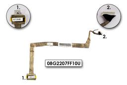 Asus F7E, F7F, F7L laptophoz használt LCD kábel, 08G2207FF10U