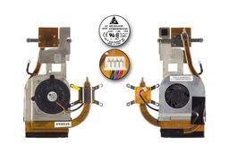 Asus F8DC, A8DC laptophoz használt komplett hűtés (13GNGM3AM011-1)