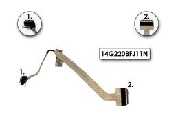 Asus F8SA, F8SV, F8V laptophoz használt LCD kábel, 14G2208FJ11N