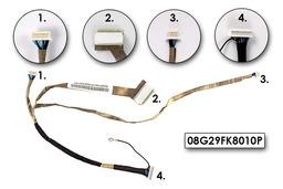 Asus F9DC laptophoz használt LCD kábel, 08G29FK8010P